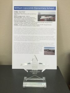 DFW Urethane 2017 SPFA finalist Roof of the Year