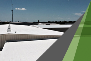 Silicone coating system added to TPO roofing