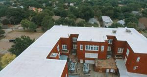 Lipscomb Elementary Roof Restoration Flyover